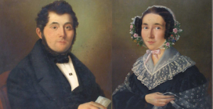 François-Joseph Drion et Camille Dumont.